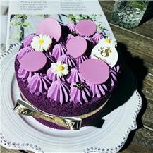 紫罗兰香草布蕾